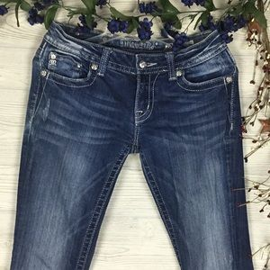 MISS ME Boot Cut JE5731BL Size 28 or 5/6